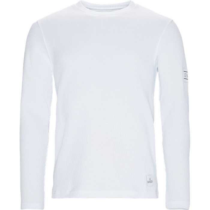 Long-sleeved T-shirts - Regular - White