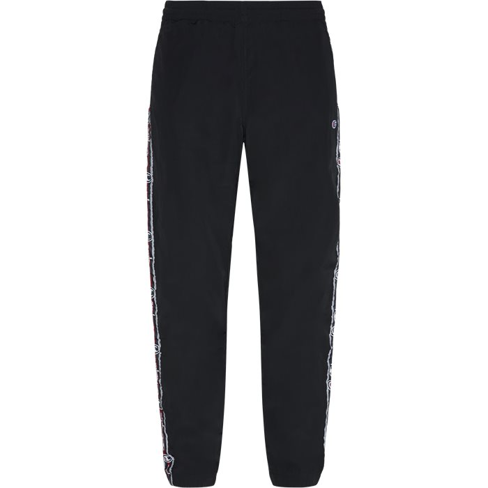 Elastik Pant - Bukser - Regular - Sort