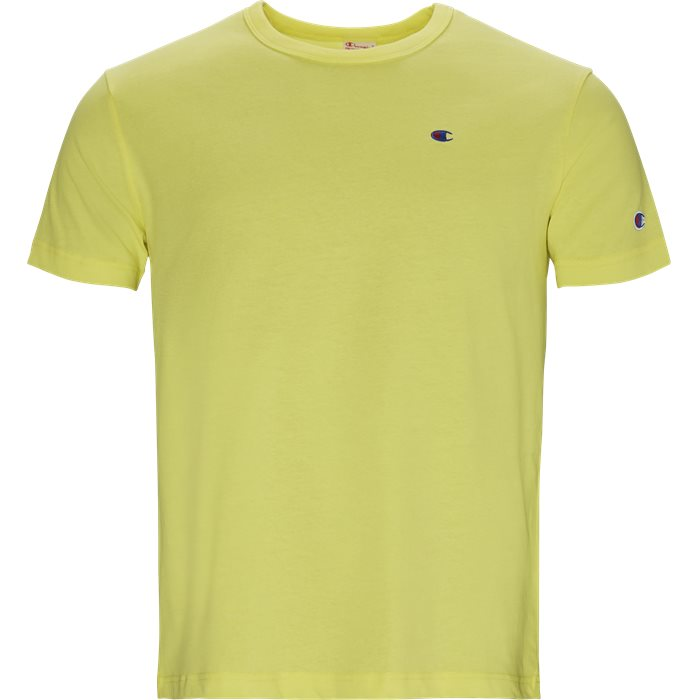 T-shirts - Regular - Yellow