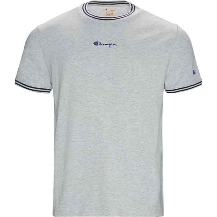 213034 Tee - T-shirts - Regular - Grå