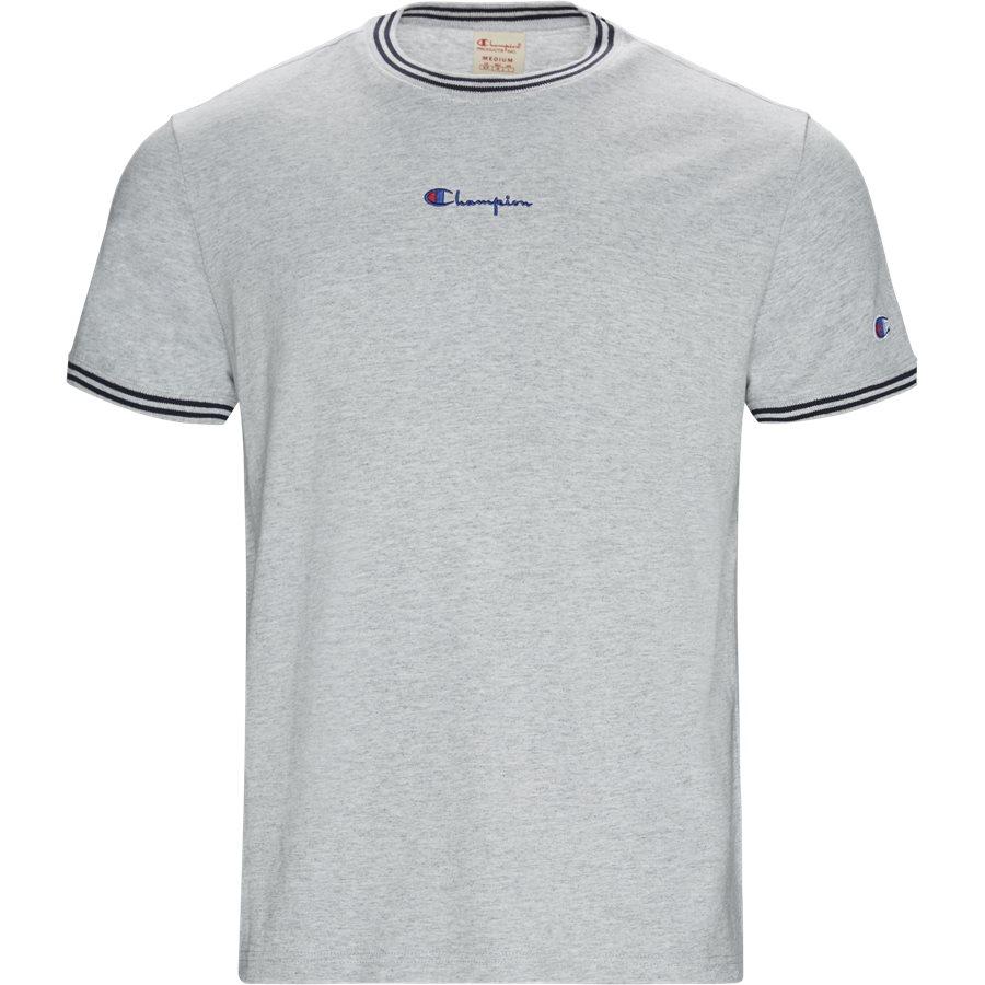 TEE 213034 - 213034 Tee - T-shirts - Regular - GRÅ - 1