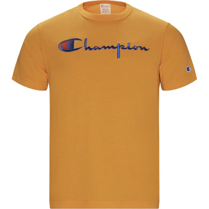 Logo Tee - T-shirts - Regular - Orange