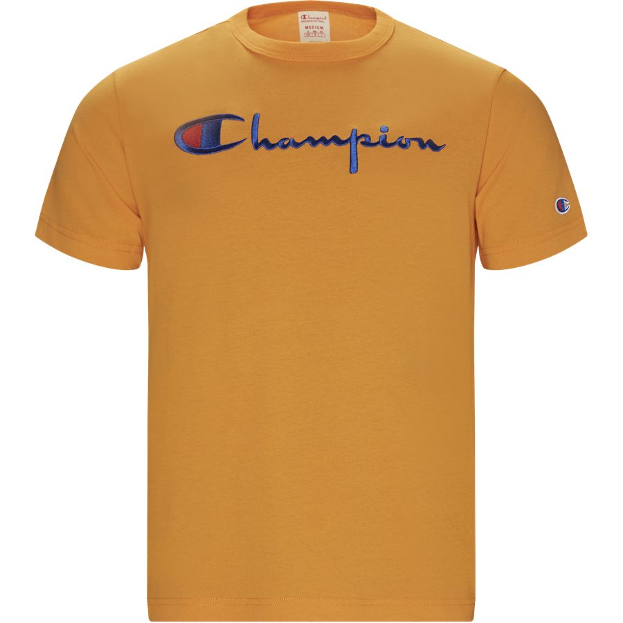TEE 210972 - Logo Tee - T-shirts - Regular - ORANGE - 1