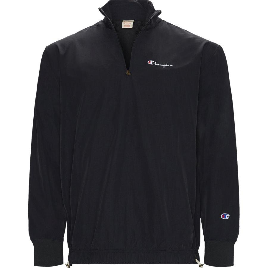 HALF ZIP 213052 - Half Zip Track Top - Sweatshirts - Regular - SORT - 1