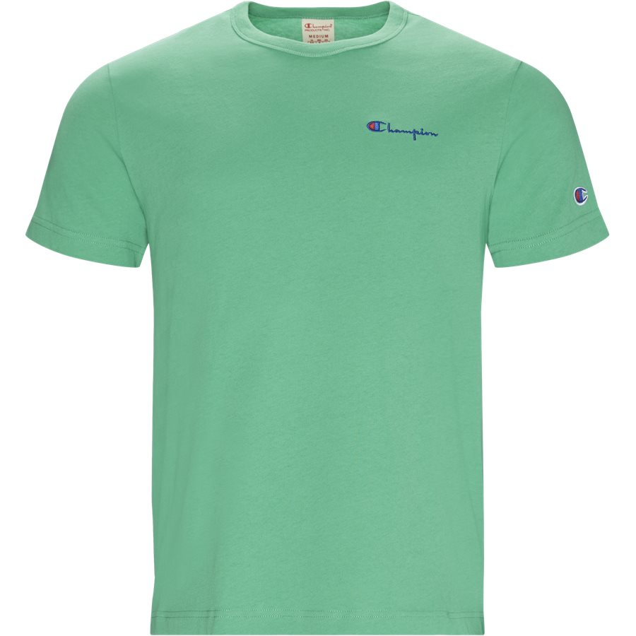 TEE 211985 - Tee 211985 - T-shirts - Regular - GRØN - 1