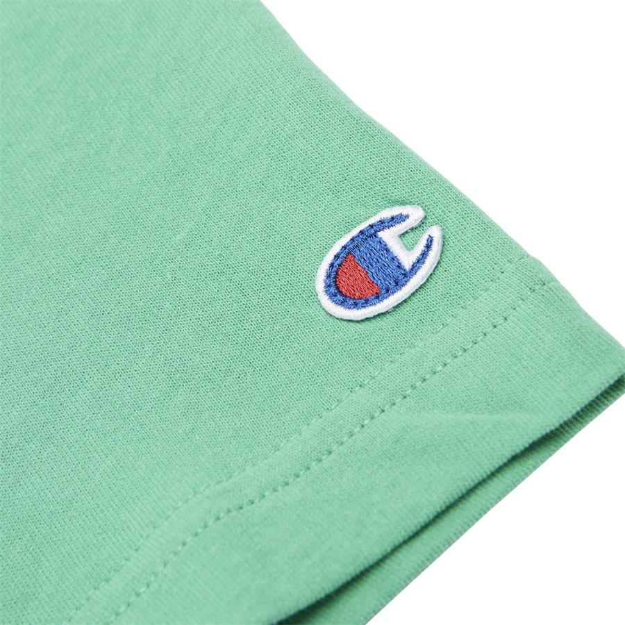 TEE 211985 - Tee 211985 - T-shirts - Regular - GRØN - 4