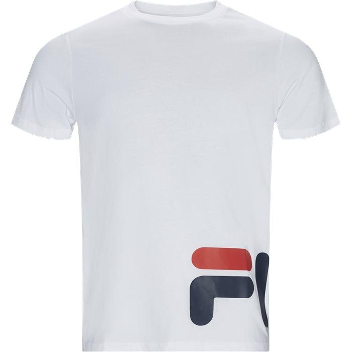 Eamon Tee - T-shirts - Regular - Hvid