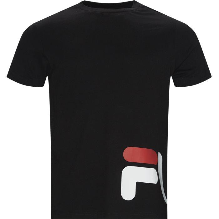 Eamon Tee - T-shirts - Regular - Sort