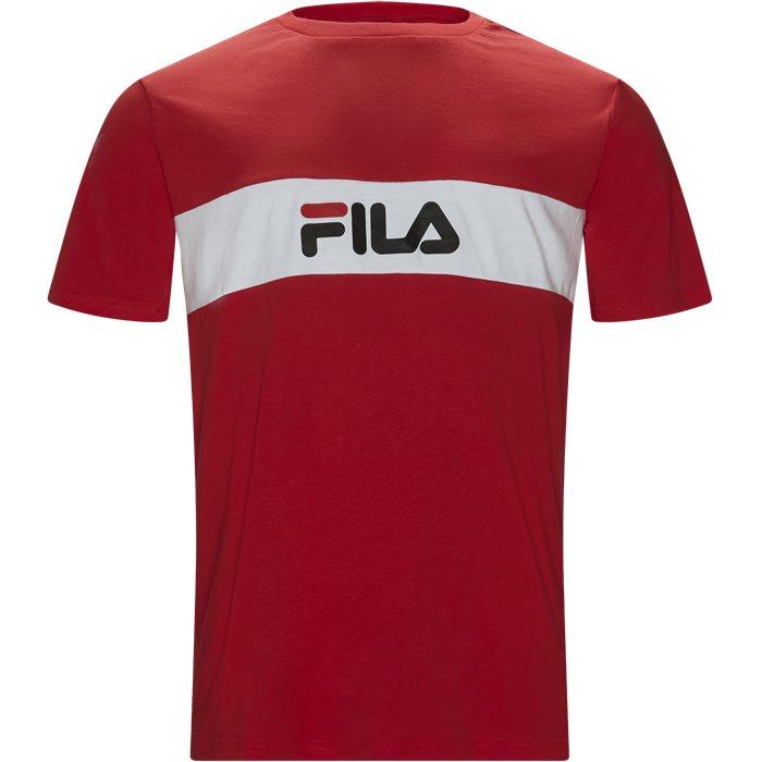 Nolan Tee - T-shirts - Regular - Rød