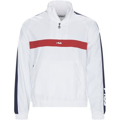Jona Woven Half Zip Jacket Jona Woven Half Zip Jacket | Hvid