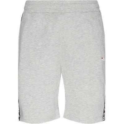 Tristan Sweat Shorts Straight fit | Tristan Sweat Shorts | Grå