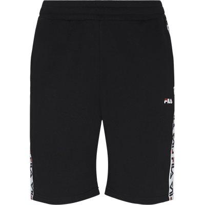 Tristan Sweat Shorts Straight fit | Tristan Sweat Shorts | Sort