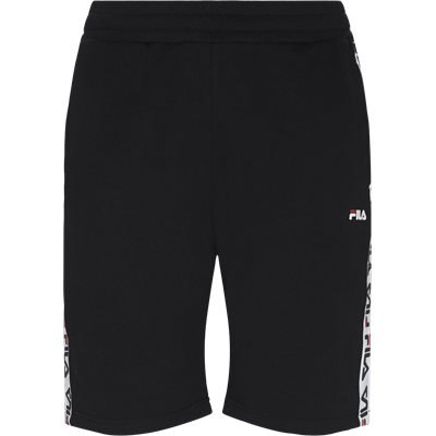 Tristan Sweat Shorts Straight fit | Tristan Sweat Shorts | Sort