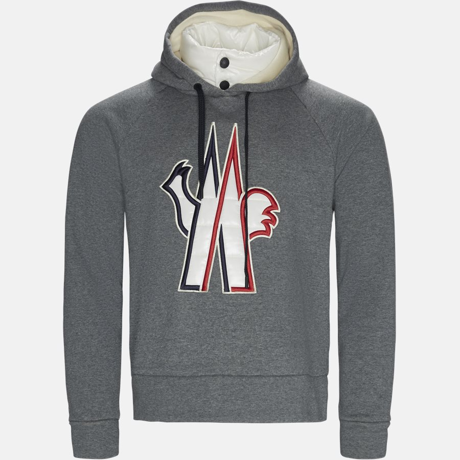 8000450 8099F - Sweatshirts - Regular fit - GREY - 1