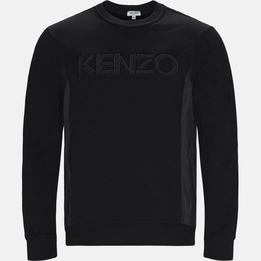 5SW1924MC - Sweatshirts - Regular slim fit - BLACK - 1