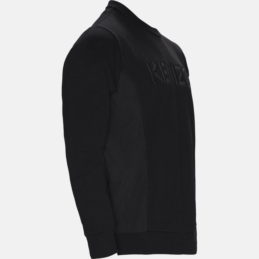 5SW1924MC - Sweatshirts - Regular slim fit - BLACK - 4