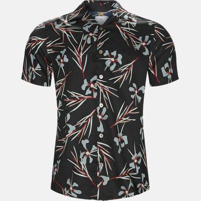 Casual fit | Kortærmede skjorter | Sort