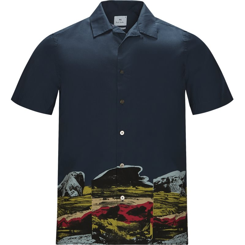 Billede af PS by Paul Smith Casual fit 114R A20307 Skjorter Navy