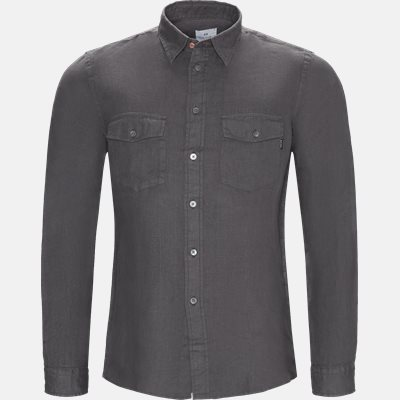 Casual fit | Shirts | Grey