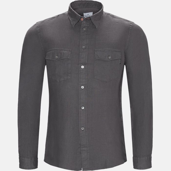 Shirts - Casual fit - Grey