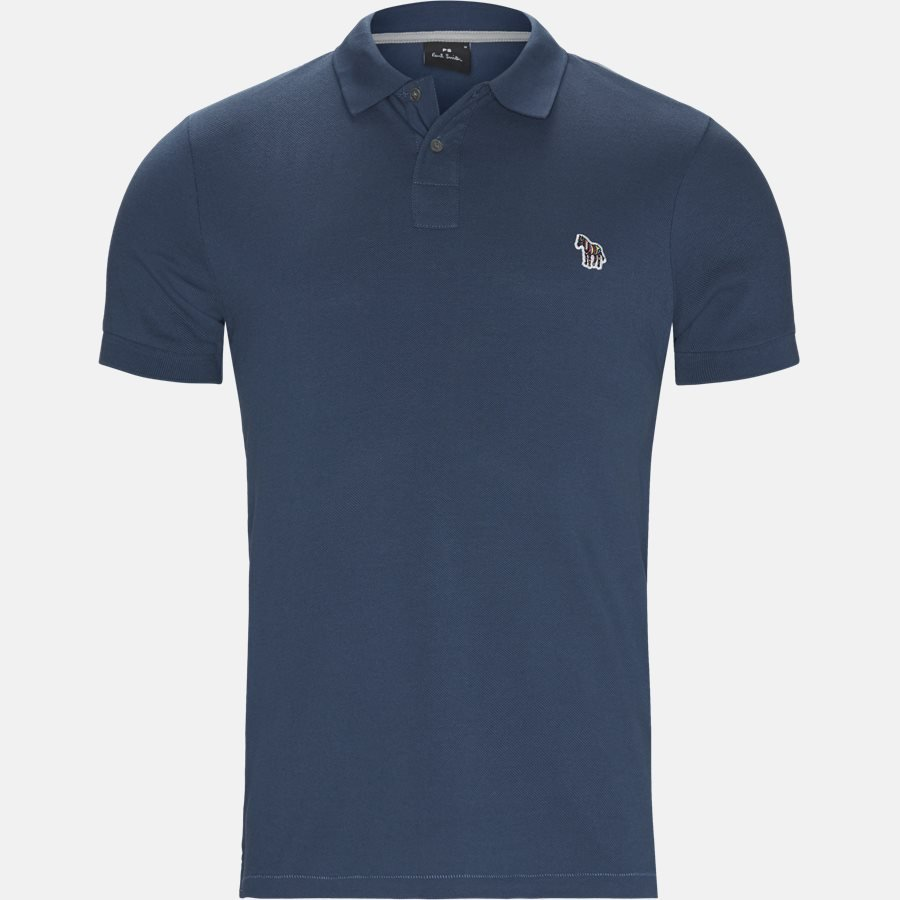 534LZ B20067 - T-shirts - Regular fit - GREY/BLUE - 1