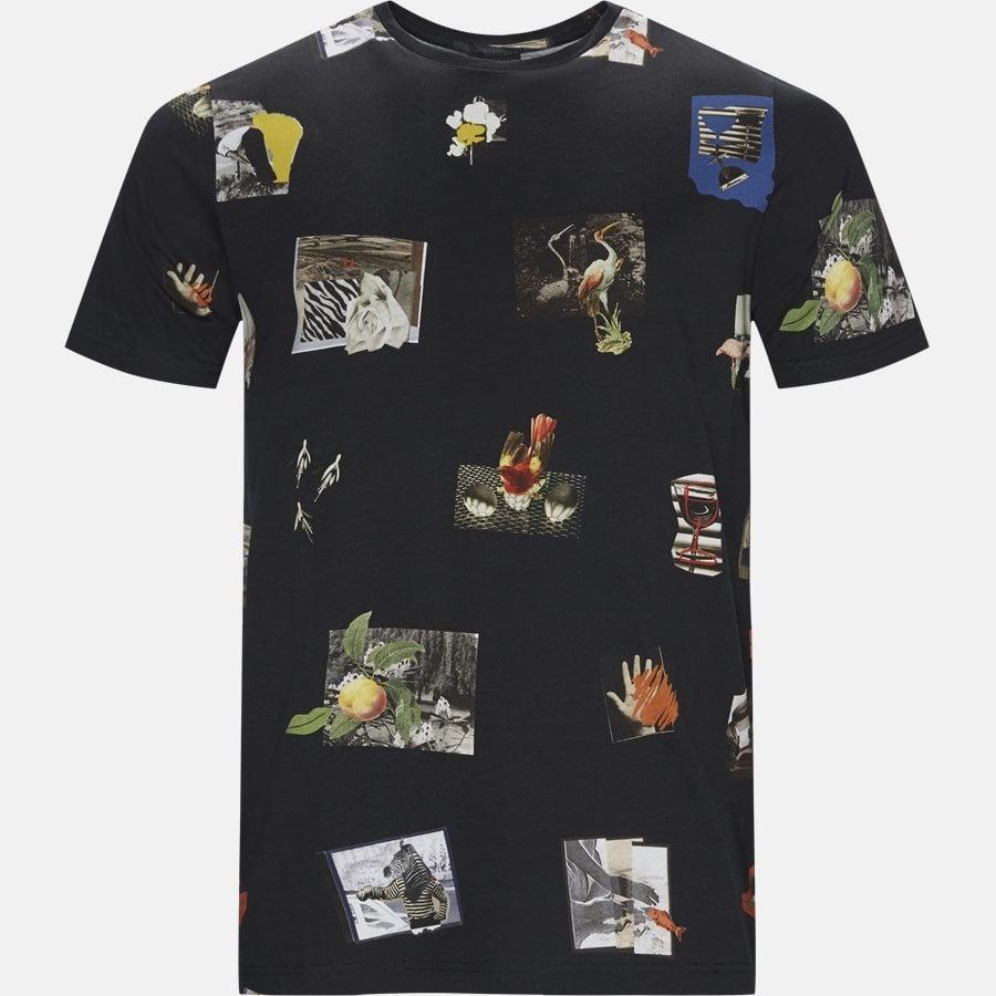 51S AP0917 - T-shirts - Regular fit - BLACK - 1