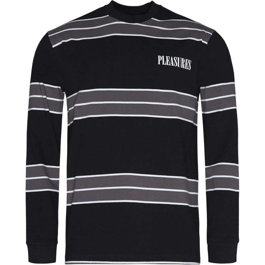 SPIRIT STRIPE L/S - Spirit Stripe L/S - T-shirts - Regular - SORT - 1