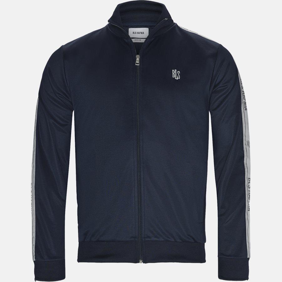 CASTELLANO TRACK JACKET - Sweatshirt  - Sweatshirts - Regular fit - NAVY - 1