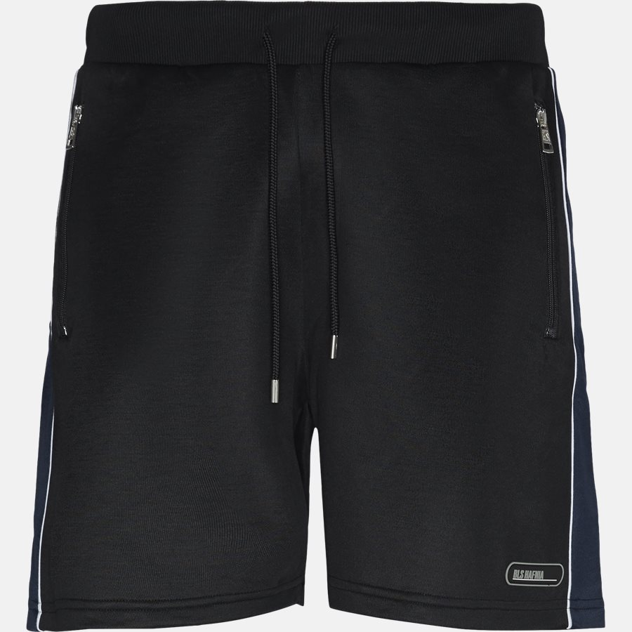 RUSO TRACK SHORTS - Shorts - Regular fit - BLACK - 1