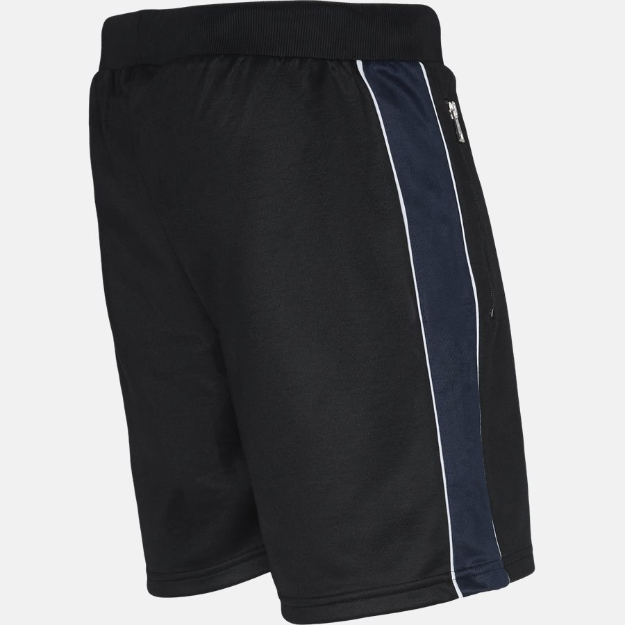 RUSO TRACK SHORTS - Shorts - Regular fit - BLACK - 3