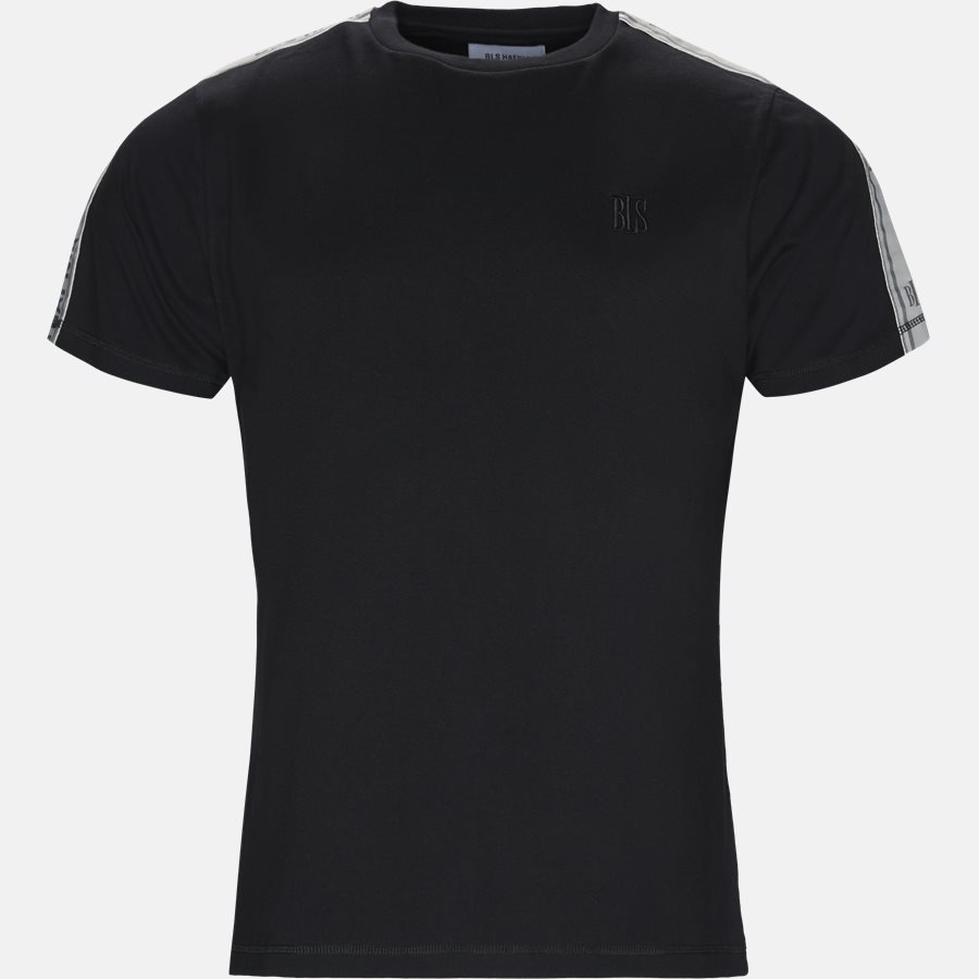CASTELLANO T-SHIRT - T-shirts - Regular fit - BLACK - 1