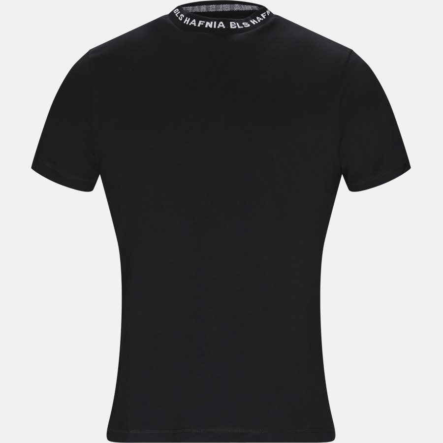 COHEN T-SHIRT - T-shirts - Regular fit - BLACK - 1