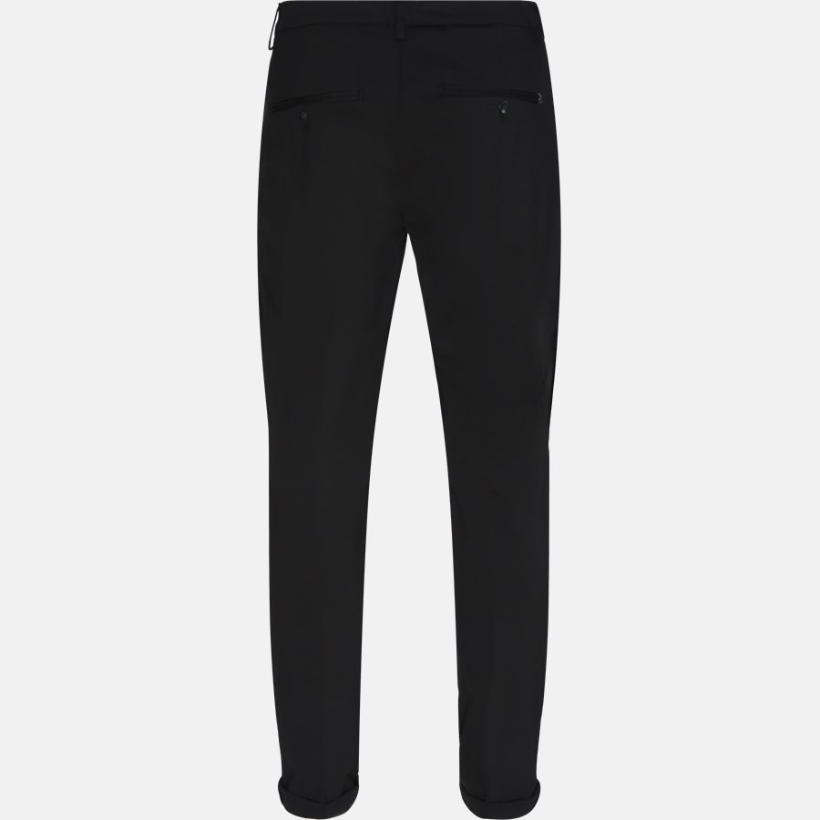 UP235 JS0208U - Bukser - Slim - BLACK - 2