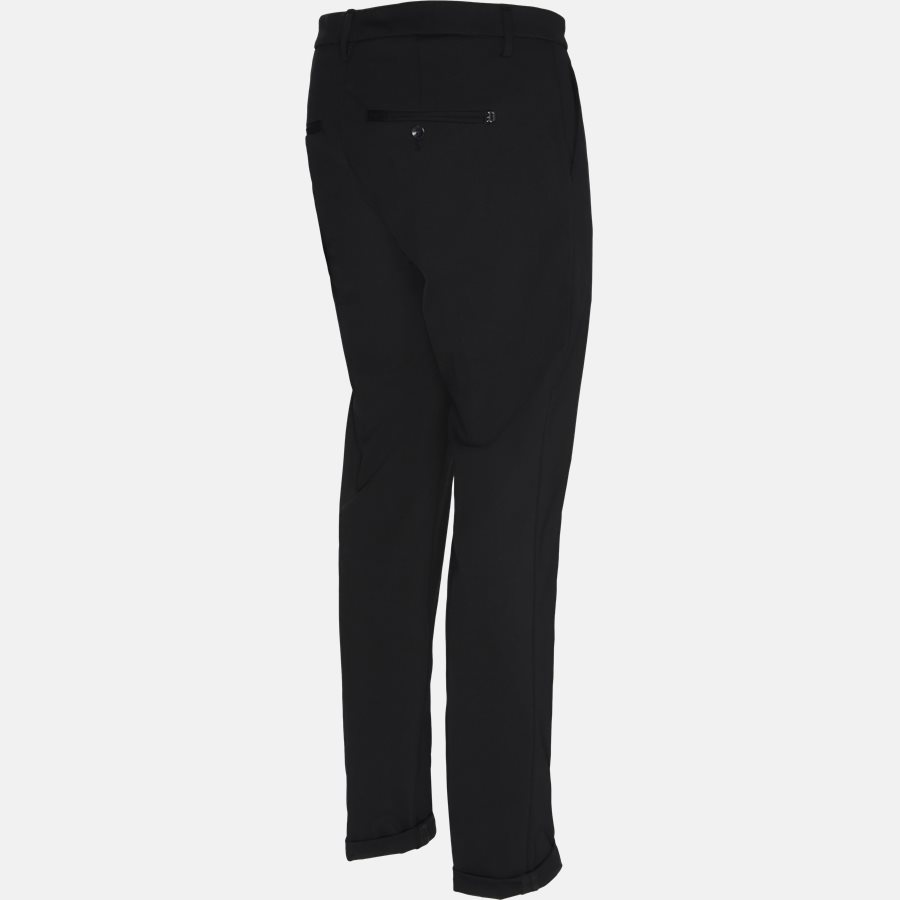 UP235 JS0208U - Bukser - Slim - BLACK - 3