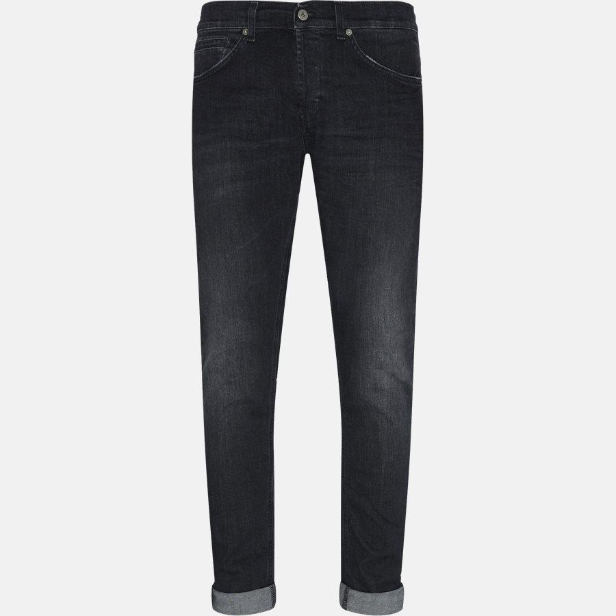 UP232 DS168 U60 - jeans - Jeans - Skinny fit - BLACK - 1