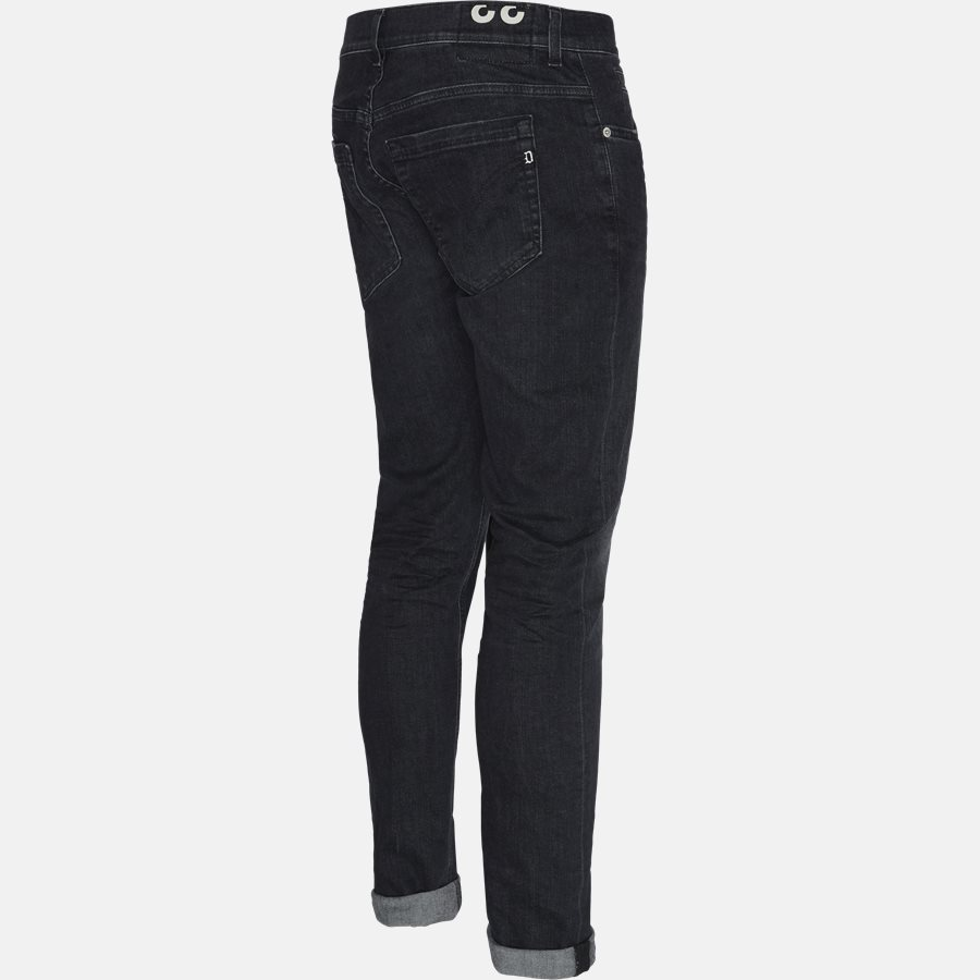 UP232 DS168 U60 - jeans - Jeans - Skinny fit - BLACK - 3