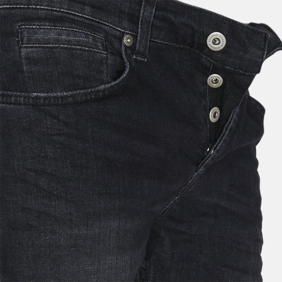 UP232 DS168 U60 - jeans - Jeans - Skinny fit - BLACK - 4