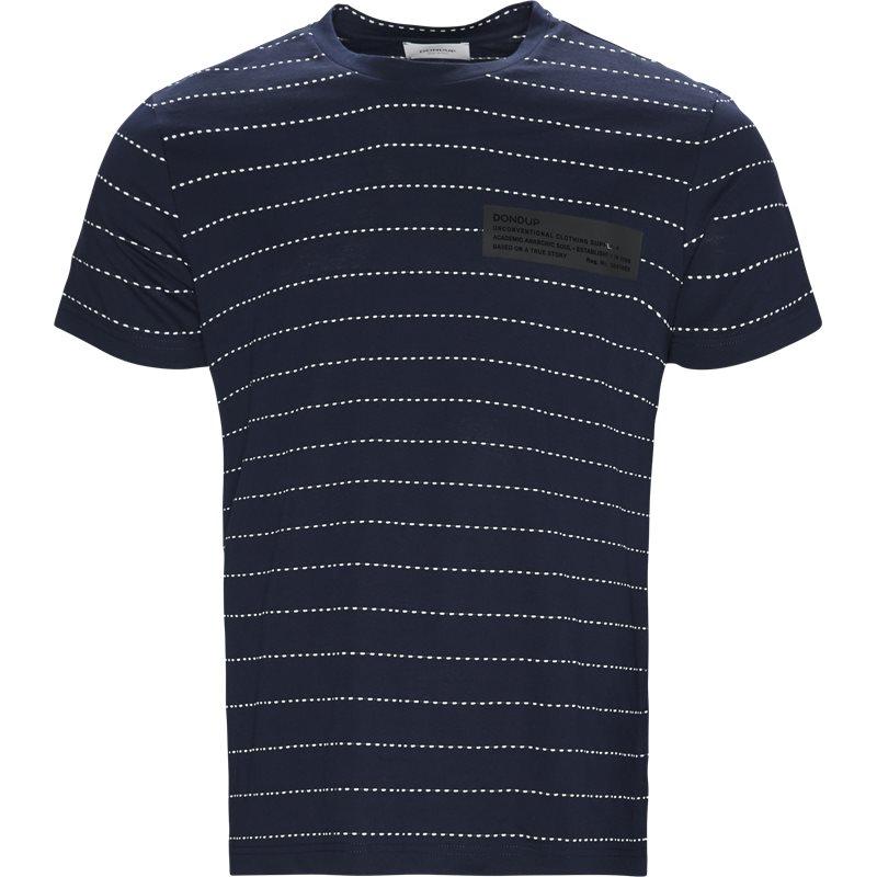 Billede af Dondup Regular fit US281 JS211 002 T-shirts Navy