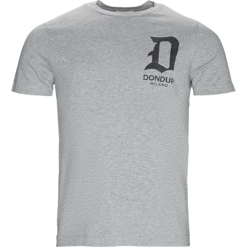 Billede af Dondup Regular fit US198 JF234 V61 T-shirts Grey