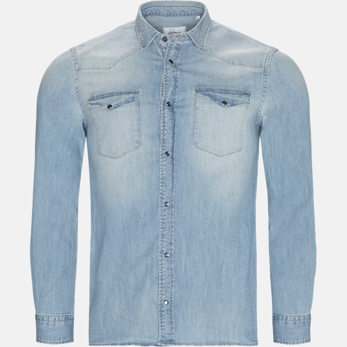 Shirts - Slim - Denim
