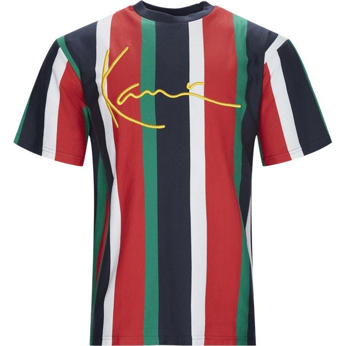 KK Signature Pinstripe Tee - T-shirts - Regular - Multi