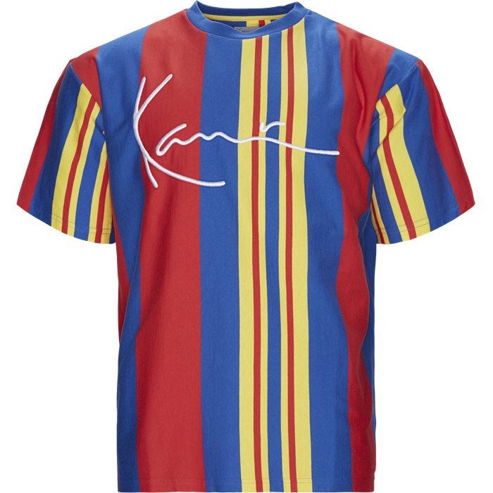KK Signature Stripe Tee - T-shirts - Regular - Multi