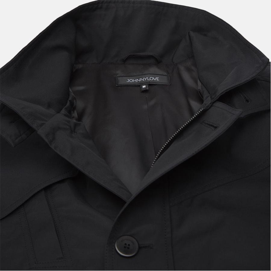COHEN 001B - jakke - Jakker - Regular fit - BLACK - 3