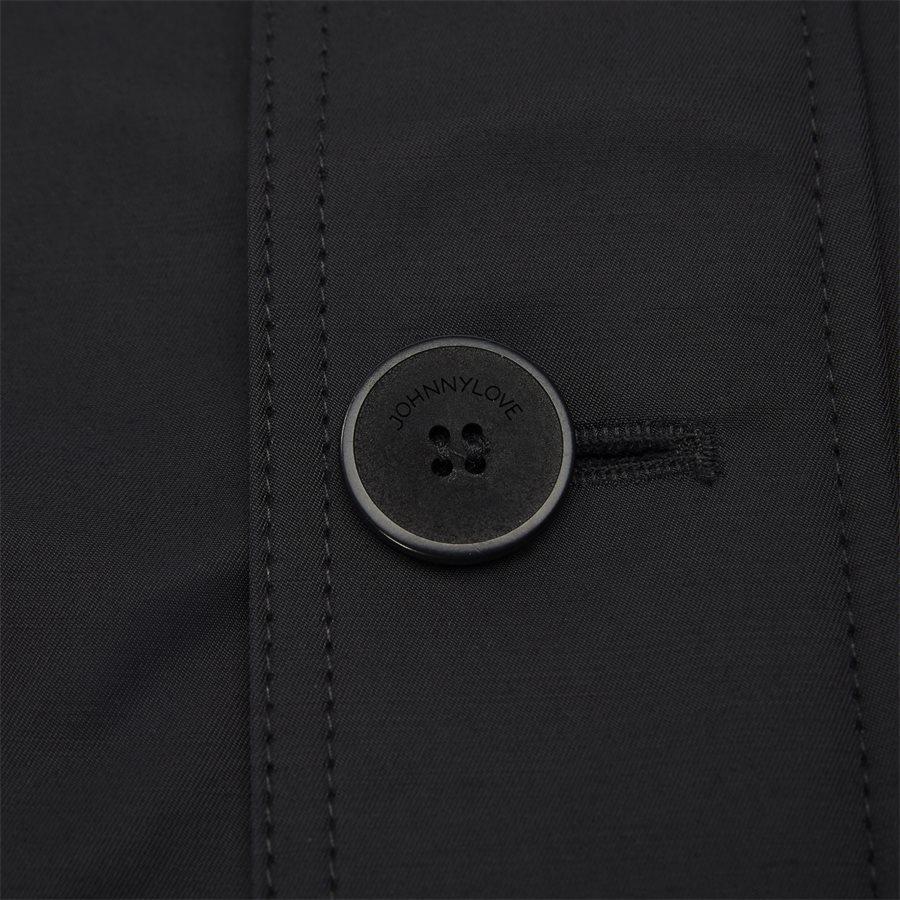 COHEN 001B - jakke - Jakker - Regular fit - BLACK - 4