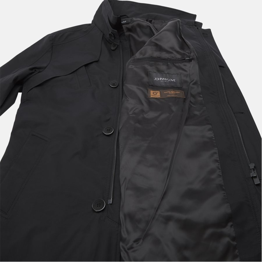 COHEN 001B - jakke - Jakker - Regular fit - BLACK - 7