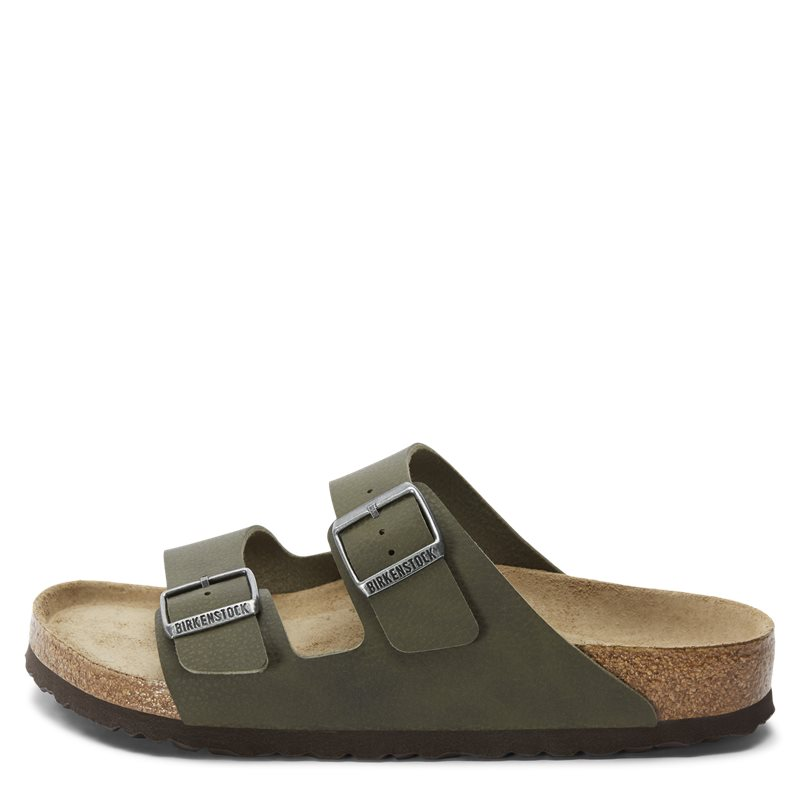 Image of Birkenstock 1008445 ARIZONA SFB Sko Green