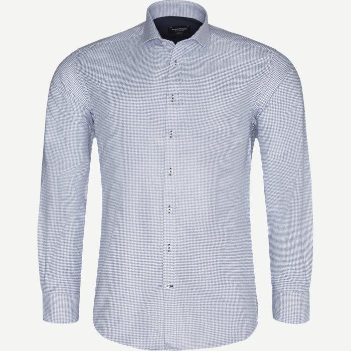 Montella Skjorte - Skjorter - Modern fit - Blå