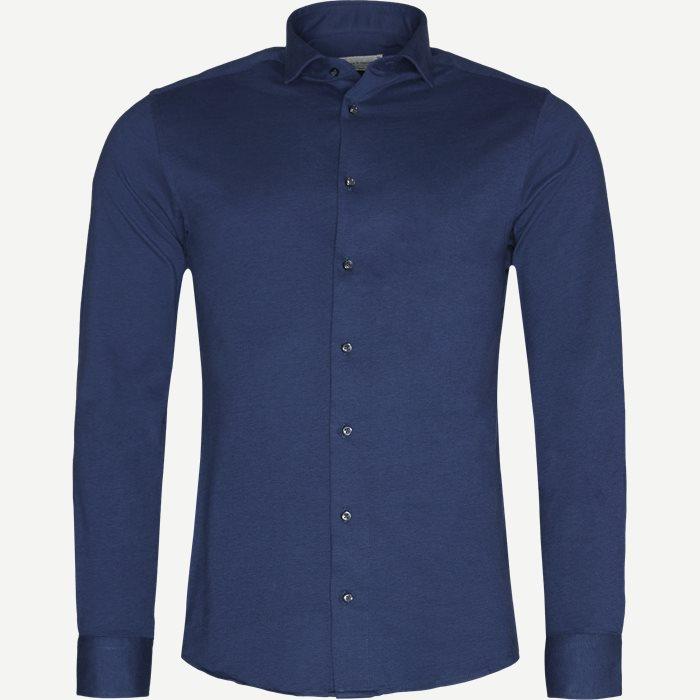 Stark Skjorte - Skjorter - Slim - Blå
