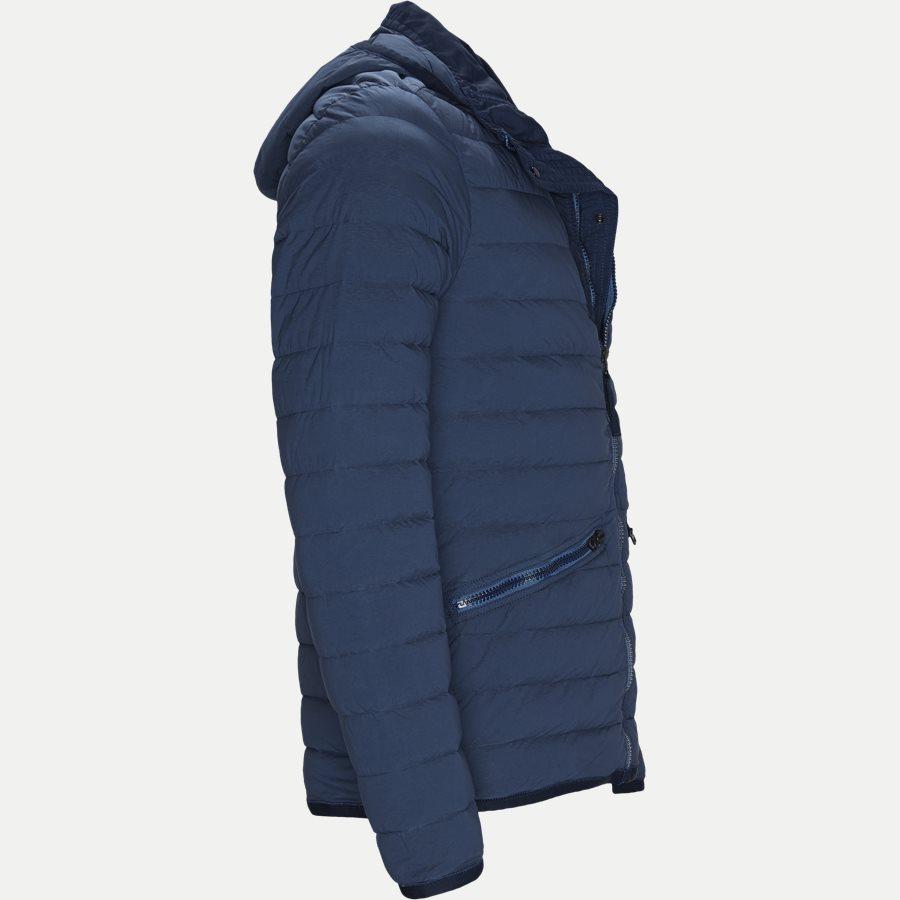 701543125 - Loom Woven Down Chambers Stretch Nylon Jacket - Jakker - Regular - DENIM - 4