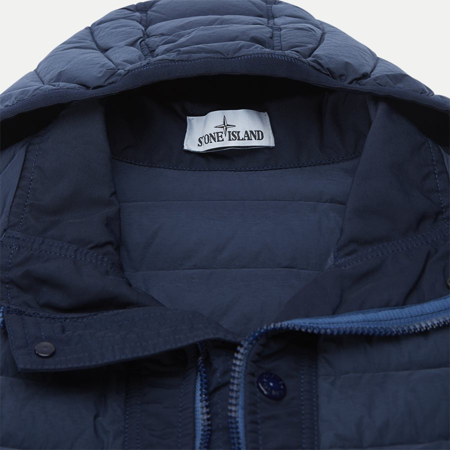 701543125 - Loom Woven Down Chambers Stretch Nylon Jacket - Jakker - Regular - DENIM - 5